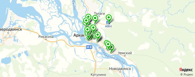 кондитерские на карте Архангельска