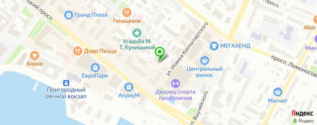 модельные агентства на карте Архангельска