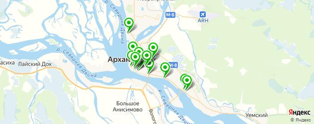 детская игровая комната на карте Архангельска