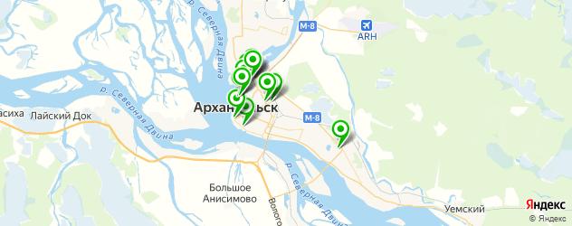 ортопедические магазины на карте Архангельска
