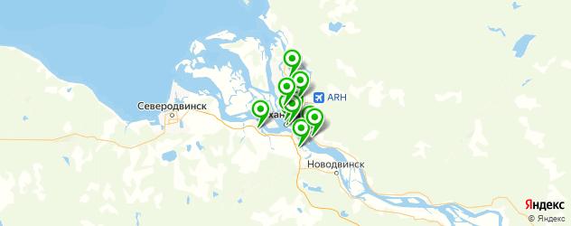 художественные школы на карте Архангельска