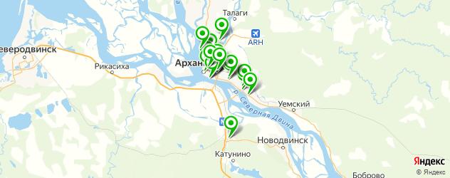 скупка золота на карте Архангельска