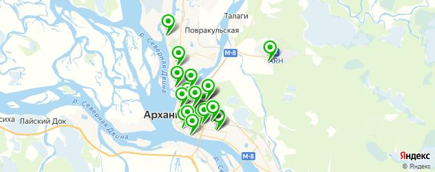 мотосалоны на карте Архангельска