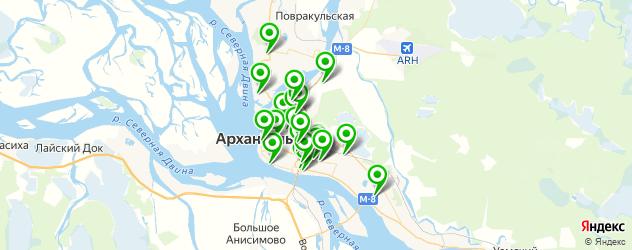 тюнинги ателье на карте Архангельска