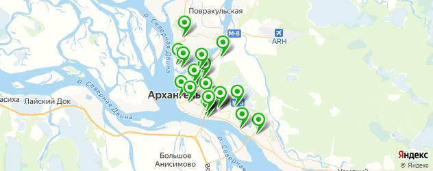 тюнинги-магазины на карте Архангельска