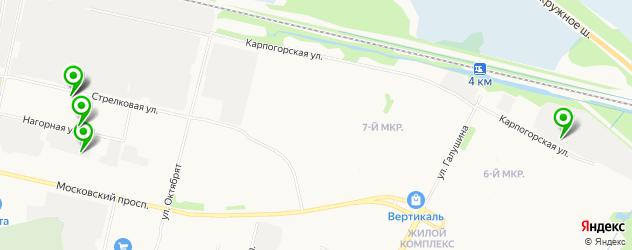 авторазборки на карте Майской горки