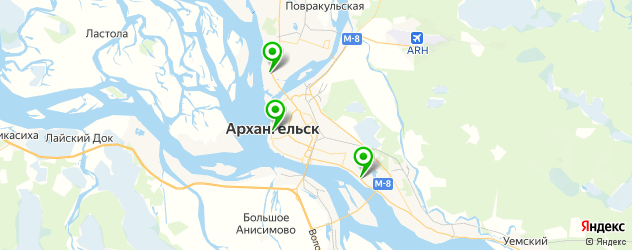 Замена экрана Galaxy S8 на карте Архангельска