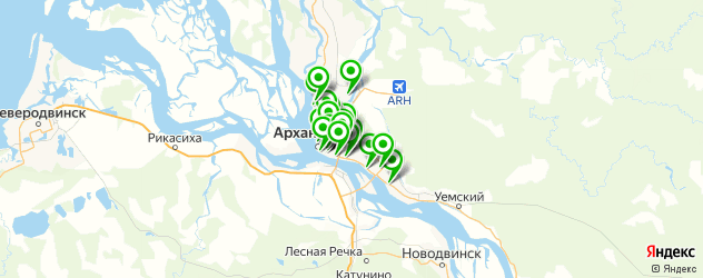 швейные мастерские на карте Архангельска