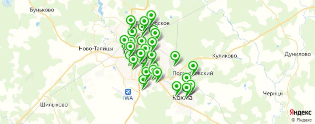 школы на карте Иваново
