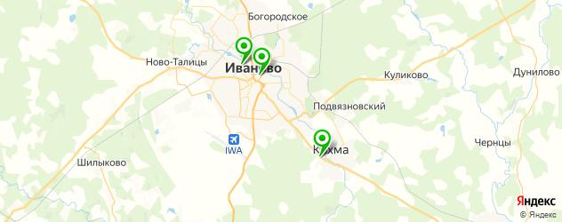 модельные агентства на карте Иваново