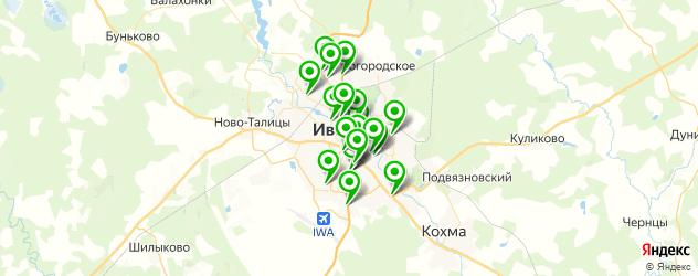 тюнинги-магазины на карте Иваново