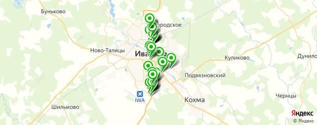 автосалоны на карте Иваново