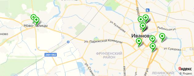музеи на карте Иваново