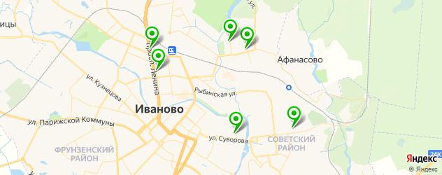 НИИ на карте Иваново