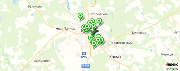 доставка на карте Иваново