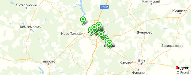 детский день рождения на карте Иваново