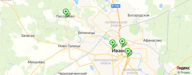 квесты на карте Иваново