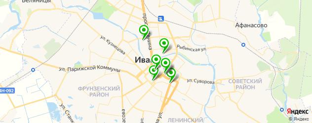 кадровые агентства на карте Иваново