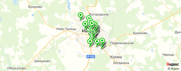СПА салон на карте Иваново