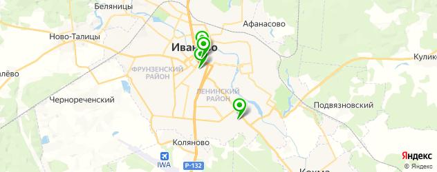 стоматологические поликлиники на карте Иваново