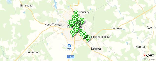 банкоматы на карте Иваново