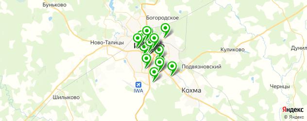 институты на карте Иваново