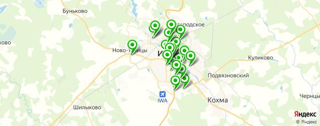 детские клубы на карте Иваново