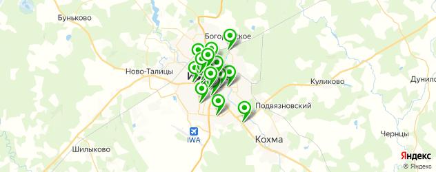 типографии на карте Иваново