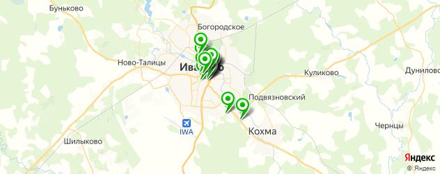 свадьба на карте Иваново