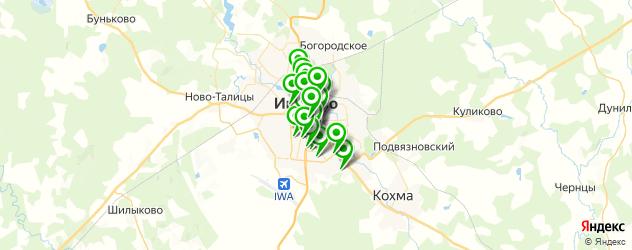 массажные салоны на карте Иваново
