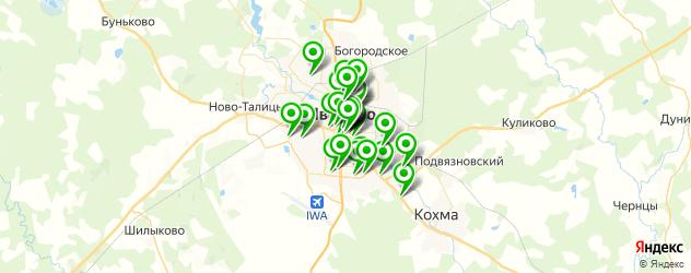 мастерские на карте Иваново
