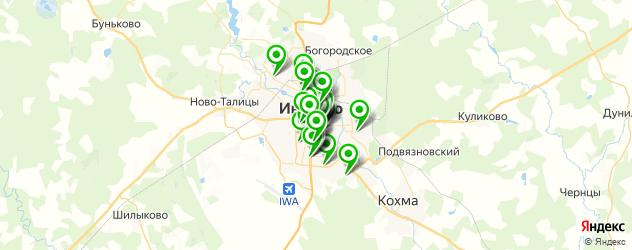 салоны красоты на карте Иваново