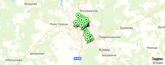 Образование и развитие на карте Иваново
