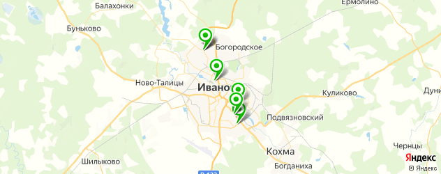 авторазборки на карте Иваново