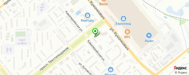боди-арты салон на карте Иваново