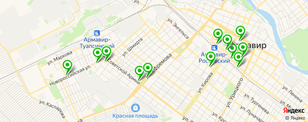 ювелирные мастерские на карте Армавира