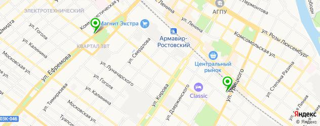 мотосалоны на карте Армавира
