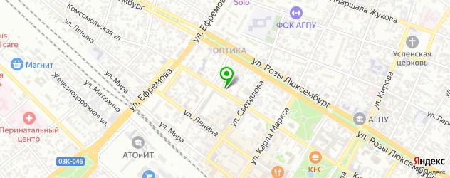 сервисные центры Самсунг на карте Армавира