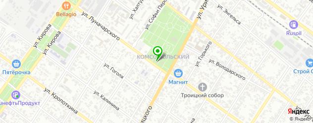 рестораны с детской комнатой на карте Армавира