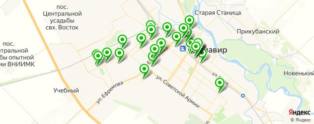 мастерские на карте Армавира