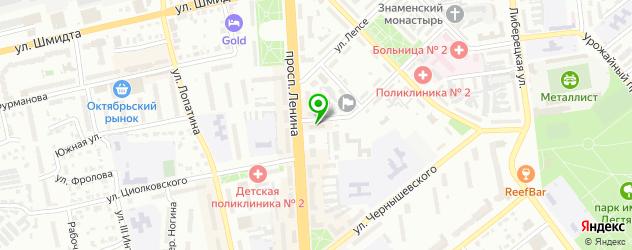 массажные салоны на карте Коврова