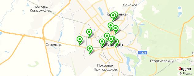 магазины автозвука на карте Тамбова