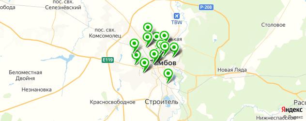 тюнинги ателье на карте Тамбова