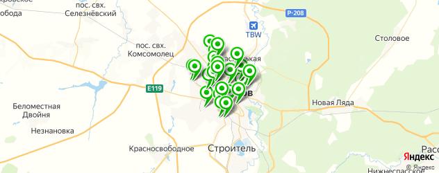сход-развал на карте Тамбова