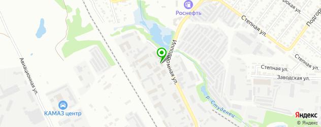 парковки на карте Тамбова