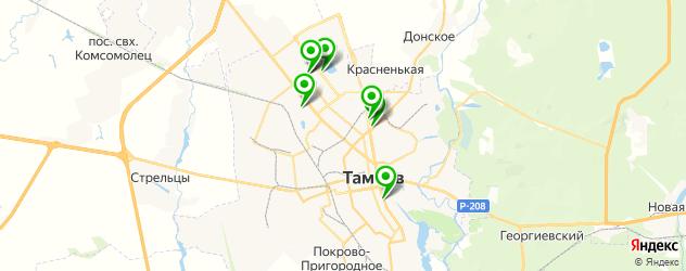 реабилитационные центры на карте Тамбова