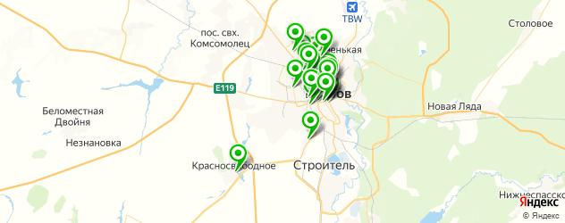 Бытовые услуги на карте Тамбова