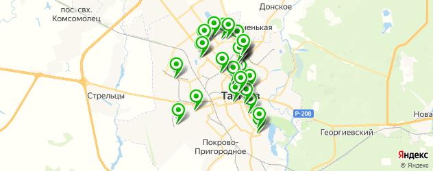 Образование и развитие на карте Тамбова