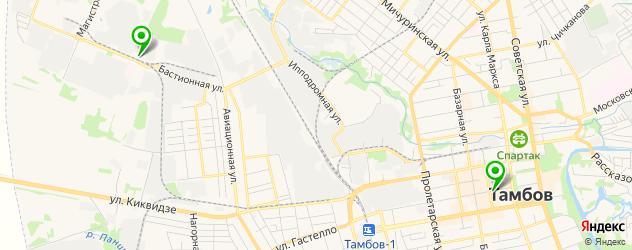 вегетарианские рестораны на карте Тамбова