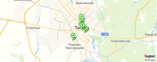 русские рестораны на карте Тамбова